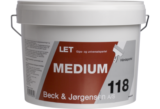 10 x 10 L. B&J Sandspartel 118 let-medium