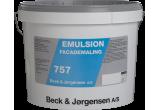 B&J 757 Emulsionsmaling Hvid 9 L