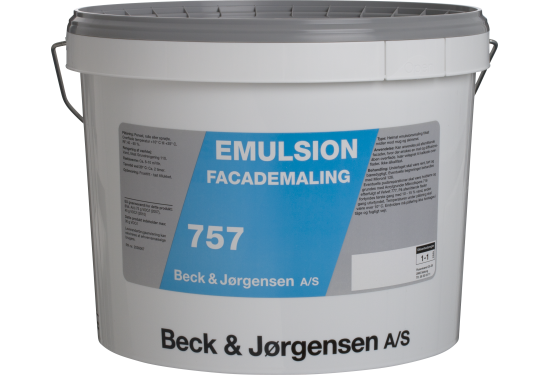 B&J 757 Emulsionsmaling 9 L