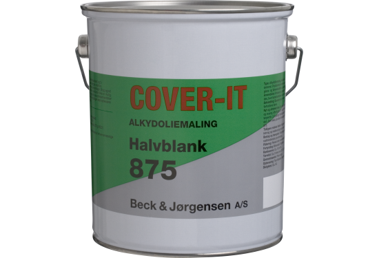 B&J Cover-It  875 Alkydoliemaling halvblank