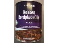 Junckers Køkken Bordpladeolie Klar 0,75 L - FØDEVAREGODKENDT