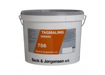 B&J Tagmaling 756 Sort - 10 L.
