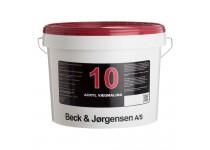 B&J Acryl Vægmaling Glans 10 - 10 L.