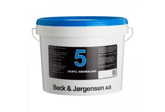 B&J Acryl Vægmaling Glans 5 - 10 L.