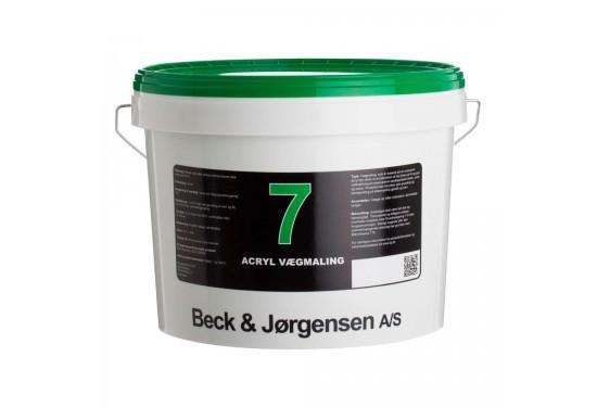 B&J Acryl Vægmaling Glans 7 - 10 L.