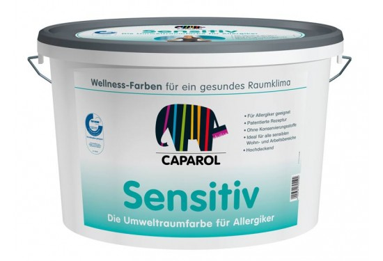 Caparol Sensitiv allergivenlig maling 12,5L.