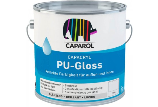 Caparol PU-Gloss træmaling glans 80