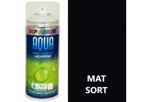 Vandbaseret Spraymaling RAL 9005 Mat - 350 ml.