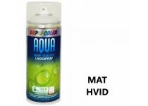 Vandbaseret Spraymaling RAL 9010 Mat - 350 ml.