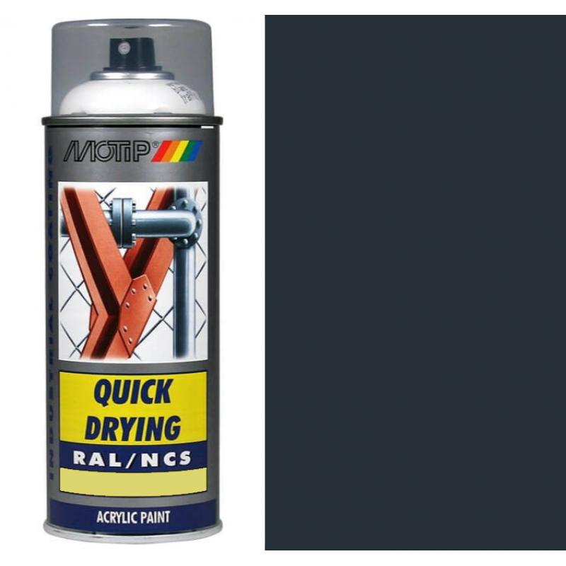 Storslået Motip Spraymaling I Ral 7016 Antracitgrå - Hurtig Levering YW68