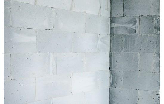 Nye Vægge - Forarbejdet på nyt gasbeton/beton