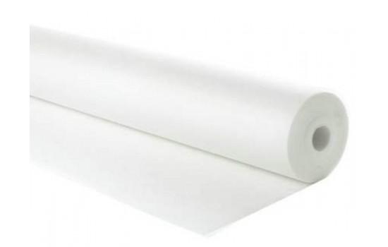 Vægge med nyt væv/filt som skal males