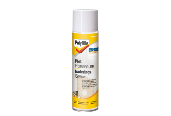 Polyfilla Pletforsegler Spray 500 ml.