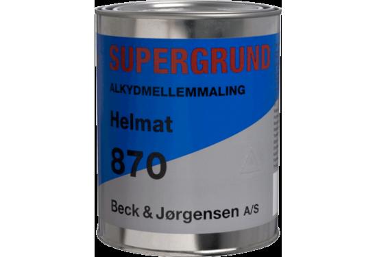 B&J Supergrund 870 Alkydmellemmaling 1 L
