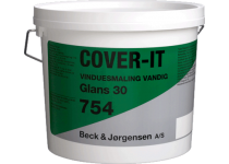 B&J Cover-It 754 Vinduesmaling Vandig glans 30