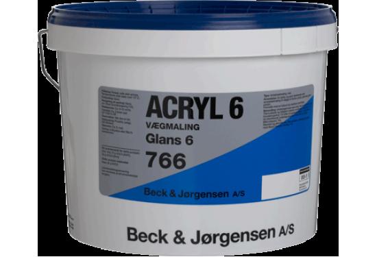 B&J 6 Acryl Vægmaling glans 6