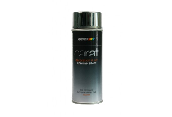 Motip Carat Spray Sølv Blank 400ml