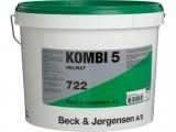 B&J 722 Kombi 5 Filt-/vævfylder 10L Hvid