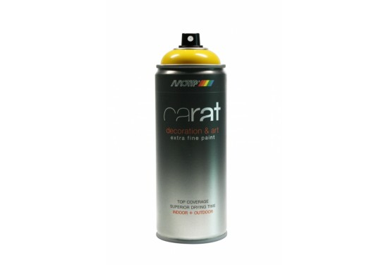 Motip Carat Spray Påskegul Blank 400ml