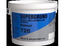 B&J Supergrund 726 Acryl Mellemmaling