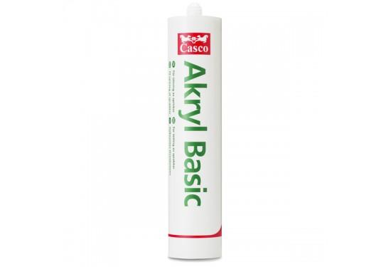 Casco Acryl Basic Fugemasse Hvid 300 ml.