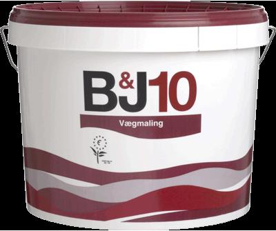 B&J 10 - Vægmaling glans 10