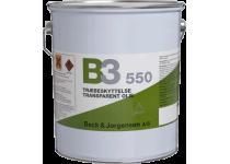 B&J B3 550 Transparent Træbeskyttelse