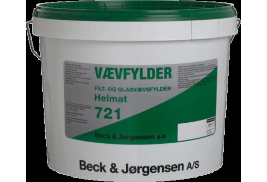 B&J Filt- og Vævfylder 721 Acryl mat