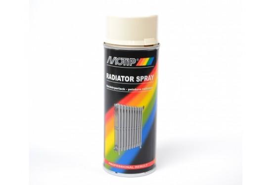 Motip Radiatorspray Hvid RAL 9010 400 ml. - 6 dåser
