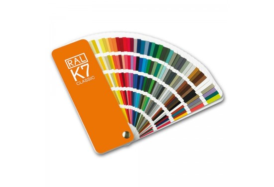 RAL K7 Classic Farvekort