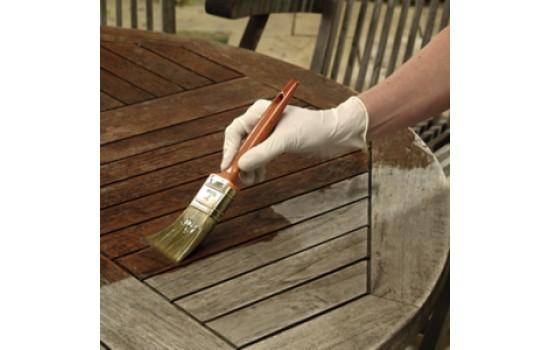 Sådan giver du træbeskyttelse til dine havemøbler